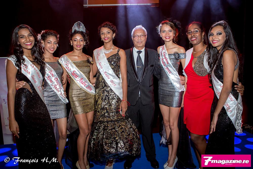 Miss Saint-André 2016<br>Cindy Velaïdom couronnée