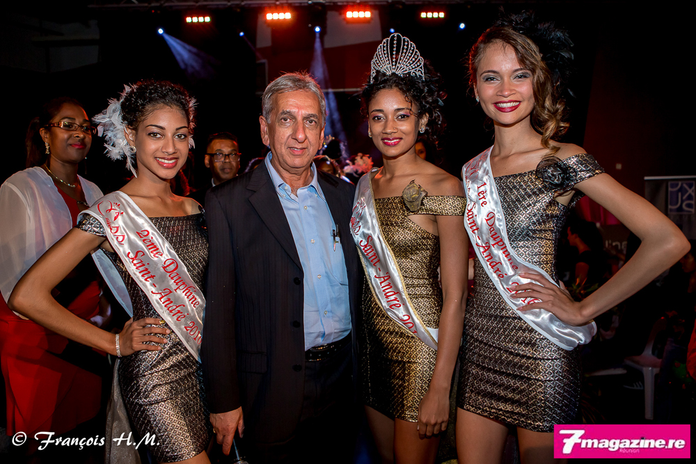 Avec Aziz Patel du Comité Miss Réunion