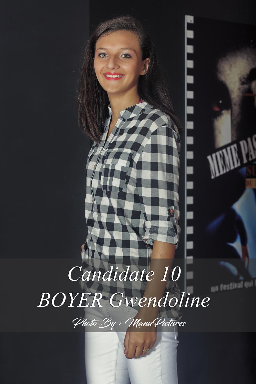 Miss Vacoa 2016<br>Les 10 candidates