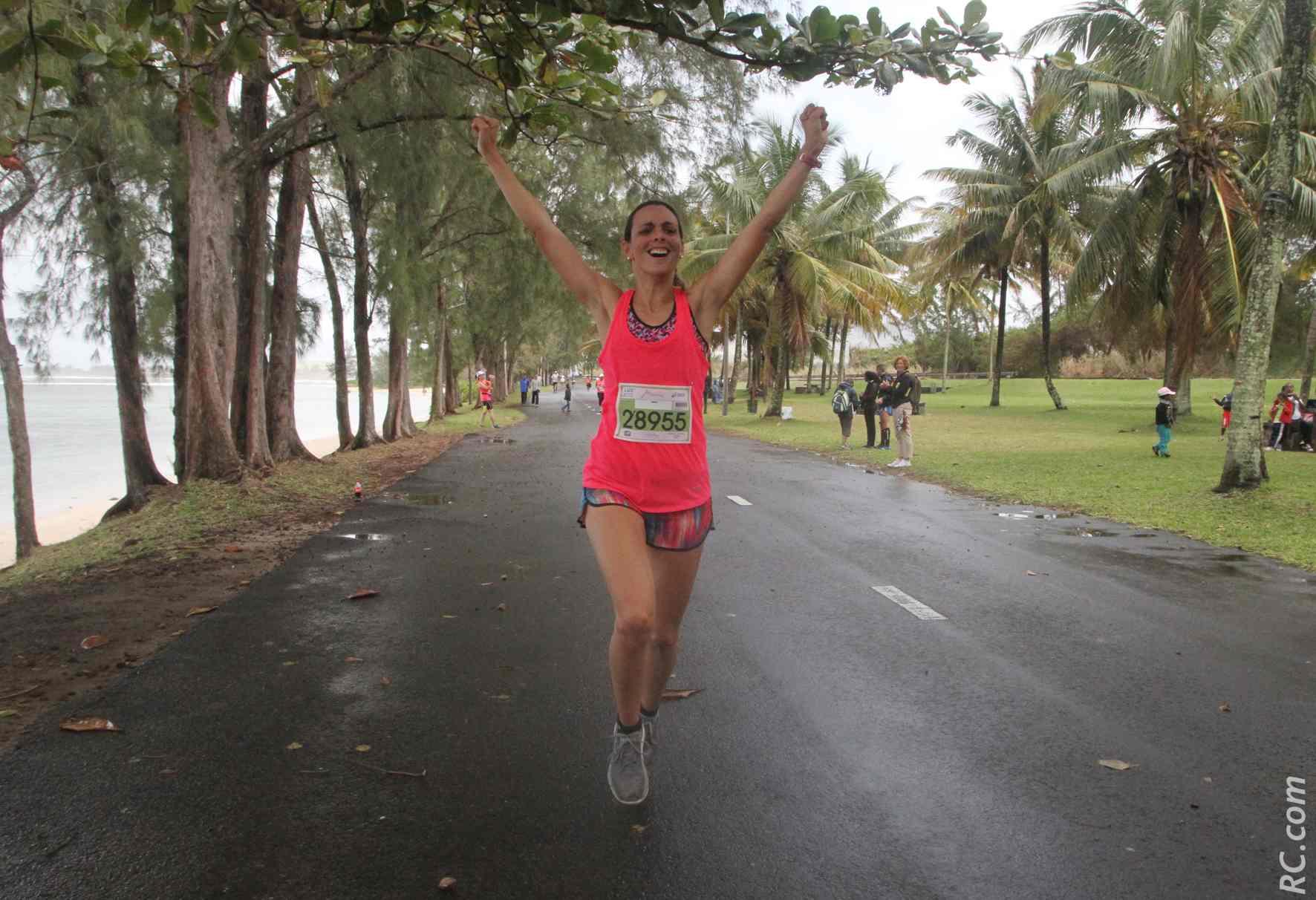 Eugénie Mareux remporte les 10 km de cette matinée dominicale du côté de Saint-Félix