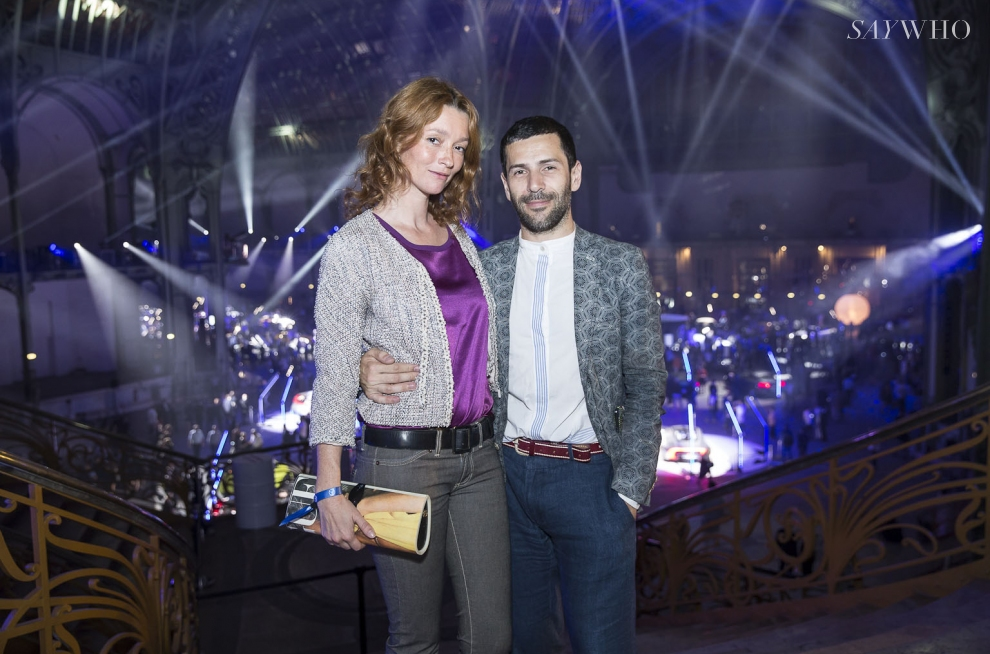 Audrey Marnay et Alexis Mabille