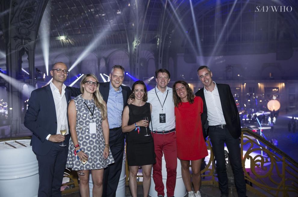 Clémence Madet, Marc Langenbrinck, Séverine Bertoux, Lionel Tromeur, Béatrice Tanguy, Stéphane Boutier et Cyril Bravard