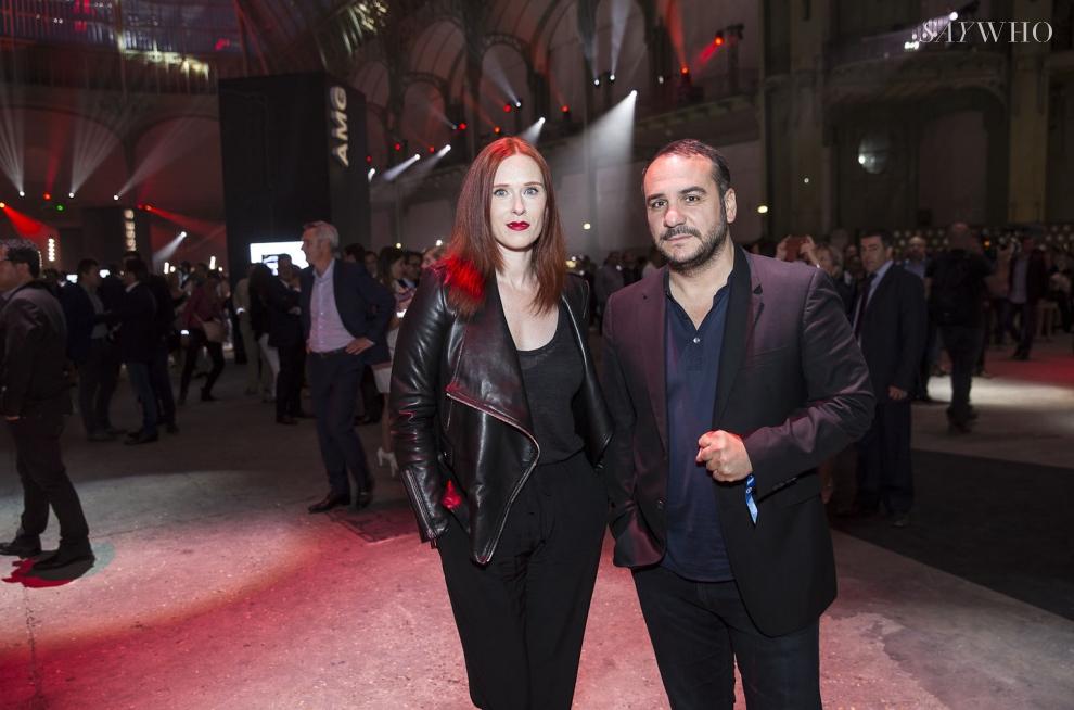 Audrey Fleurot et François-Xavier Demaison