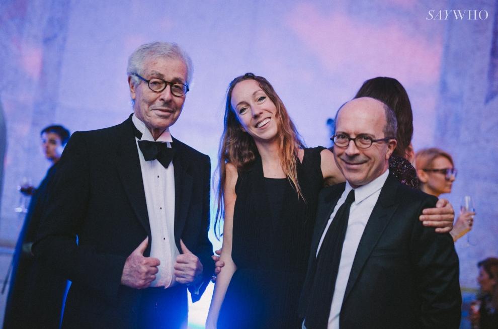 Didier Grumbach, Iris Van Herpen et Jean-Marc Loubier