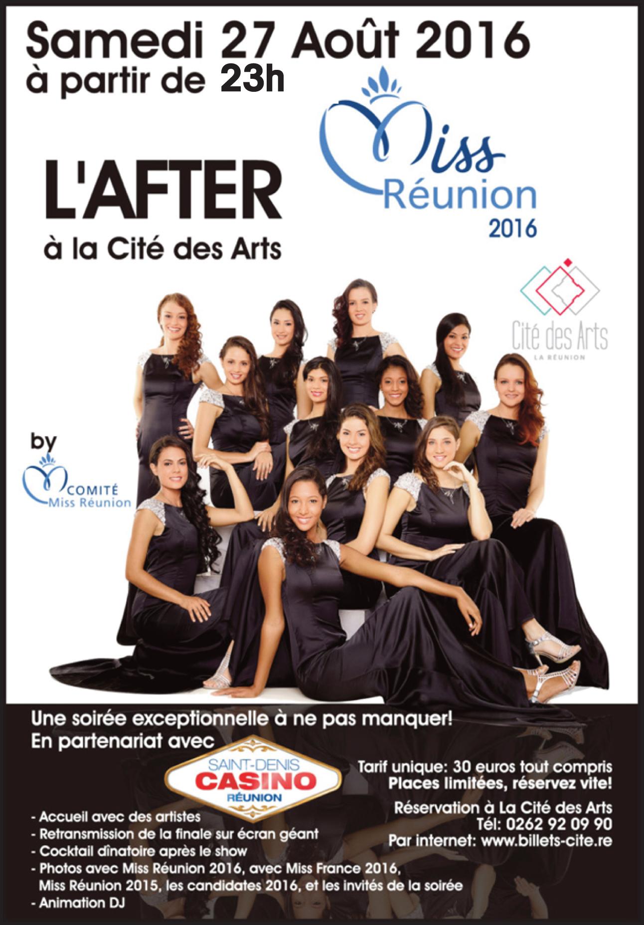 Miss Réunion à la Cité des Arts