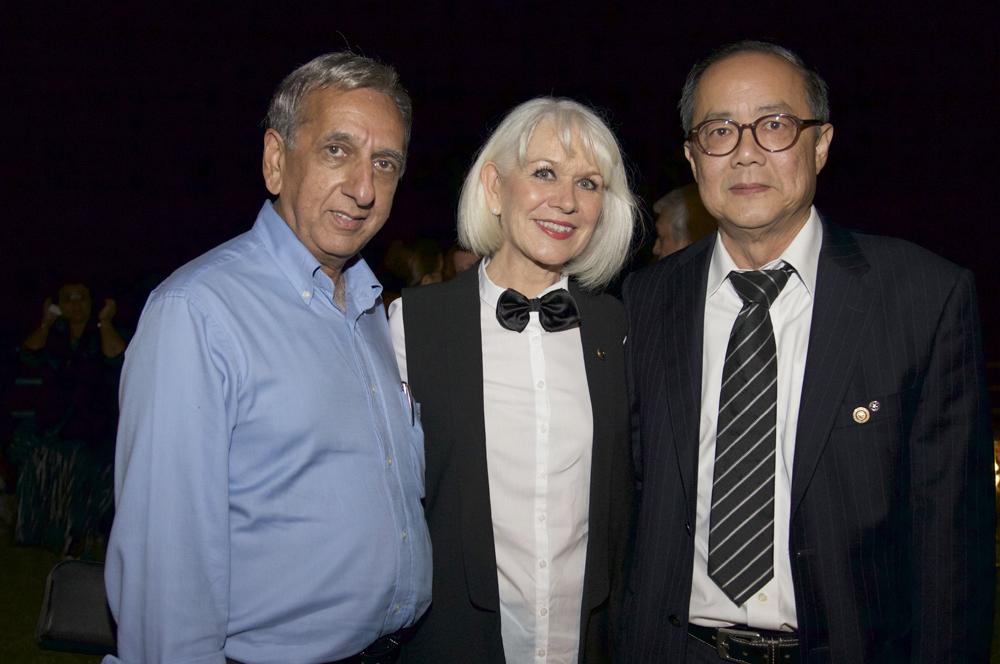 Aziz Patel, Isabelle Lemarchand, et Dominique Tsé