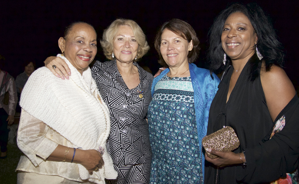Maryline Plantier, Mary-Yvonne Bailly, Mylène Payet, et Chantal Tamboura