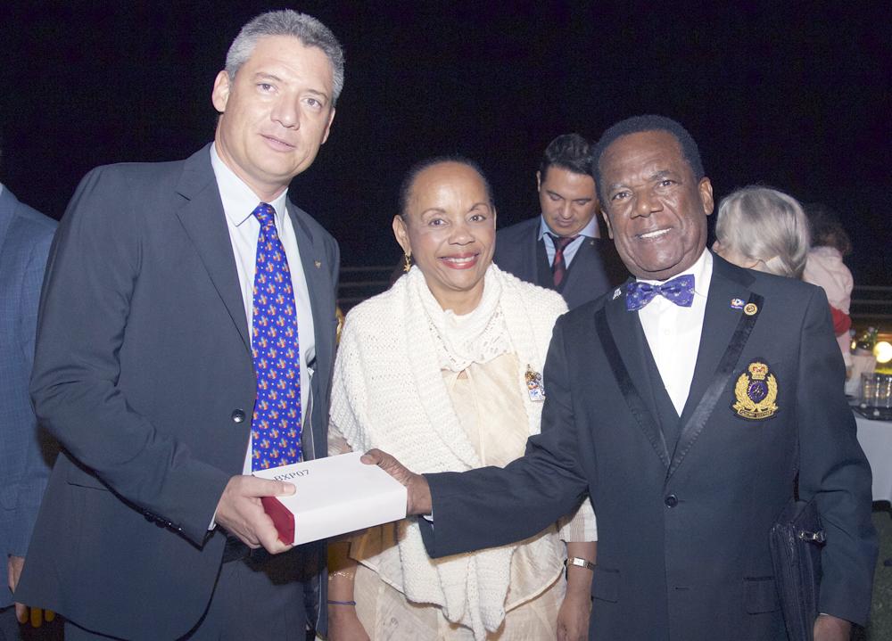 Daniel Gauvin, Maryline Plantier, et son époux Armel Boulère