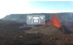 Des images exceptionnelles du volcan en drone