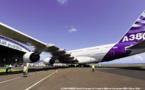 L'A380 posé à La Réunion entre au musée