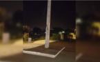Insolite : Le poteau électrique qui dit stop !
