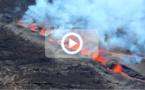 [VIDEO] Volcan : 7 fontaines de lave visibles et un cône en formation