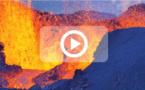 [Vidéo] L'éruption immortalisée du petit matin jusqu'à la tombée de la nuit