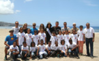 1000 Sourires <br>Baptême en parapente avec Miss Réunion!