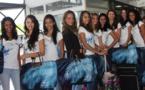 Le départ des candidates Miss Réunion 2015 pour Paris