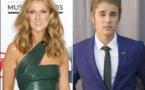 Céline Dion et Justin Bieber leur cassent les oreilles! <br> Et ils craquent!