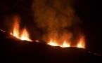 Le volcan refait son show...