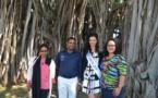 Concours du plus bel arbre de France<br>Miss Réunion appelle à voter pour le banian du Port
