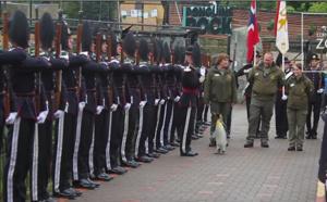 Un manchot brigadier en Ecosse