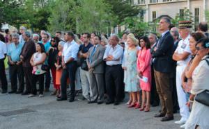 Inauguration de la place des Droits de l'Homme et de la Laïcité