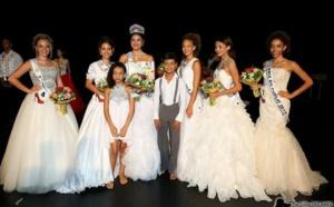 Les deux petits prodiges Réunionnais invités stars de l'élection Mademoiselle Ile de la Réunion.