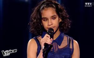 La petite prodige mauricienne de The Voice Kids médaillée