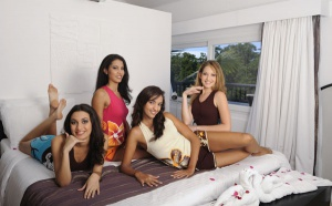 Les Candidates Miss Réunion 2009 à l'Ile Maurice - Jour 3