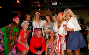 Les Russes de La Réunion font la fête