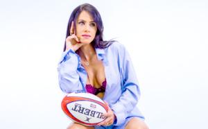 Evelyne Etheve Lebon, l'hôtesse de l'air passionnée de rugby