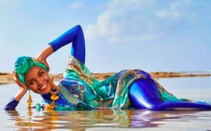 Un Top model en  hijab et burkini dans Sports Illustrated