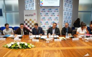 La Région Réunion signe une convention avec la compagnie aérienne VOLOTEA