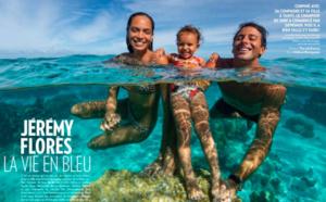 Jérémy Florès confiné avec sa Miss Tahiti est heureux