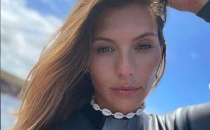 Camille Cerf en tournage à La Réunion savoure sa chance
