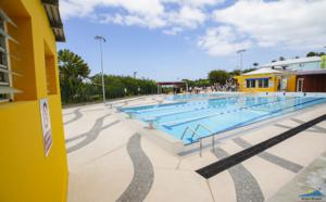 Inauguration de la piscine municipale des Avirons