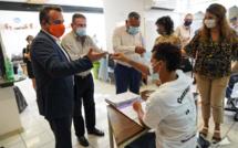 Rencontre avec les apprentis du CFA Léon Legros et remise de masques