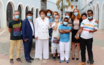 Visite de la Ministre du centre APAJH de La Réunion
